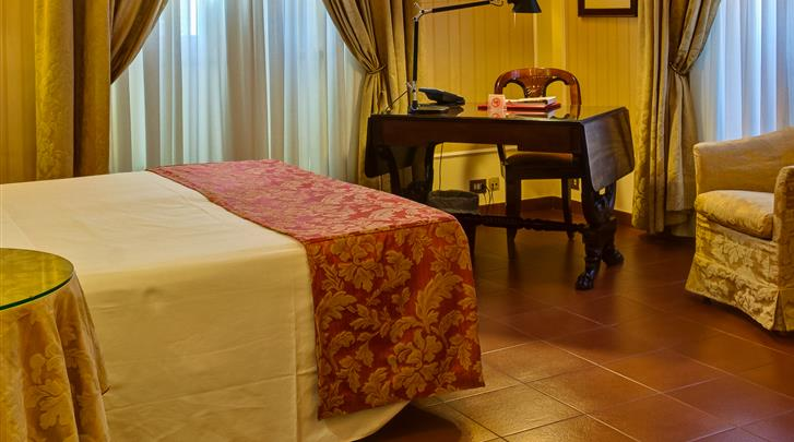 Rome, Hotel Canada, Deluxe kamer